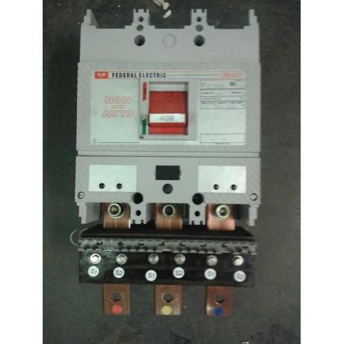 Federal Electric SJL3P400 400a Main Switch