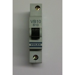 Volex VB10 10A Single Pole MCB