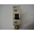 MEM 401QEB 40a Single Pole Mcb