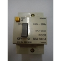 Crabtree 63a 30ma RCCB Switch