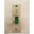 Federal Electric 32A HBNA Type 2 Single Pole MCB