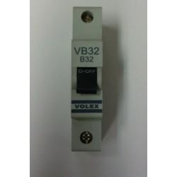 Volex VB32 32A Single Pole MCB