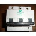FEDERAL ELECTRIC STABLOK 20AMP HBA TYPE B TRIPLE POLE MCB