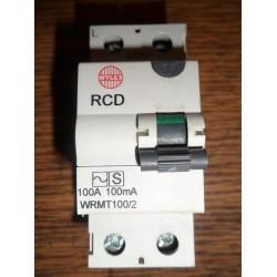 WYLEX 100A 100MA WRMT100/2 RCD
