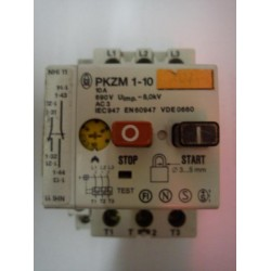 Moeller PKZM1-10 Motor Protective Circuit Breaker