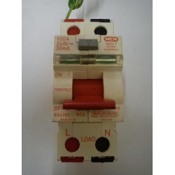 MEM 100a 30ma Single Phase RCD Main Switch